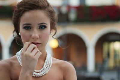 woman looking tentative