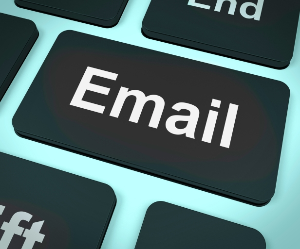 email button keyboard