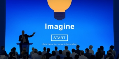 speaker introducing imagine
